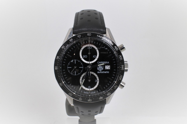 SÅLD - TAG Heuer Carrera Calibre 16 Automatic Chrono