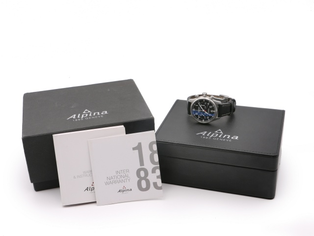 SÅLD - Alpina Starttimer Pilot Chrono Limited Edition, Full set 2015