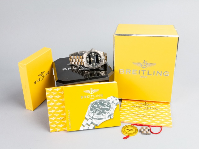 SÅLD - Breitling Aerospace Titan, E75362, Full set