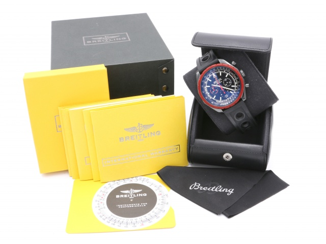 Breitling Chrono-Matic Blacksteel Limited, Full set, Nyservad