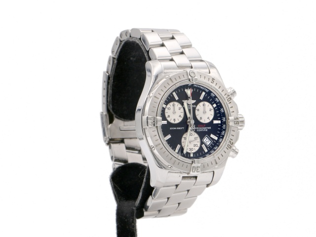SÅLD - Breitling Chrono Colt Quartz - Full set 2005