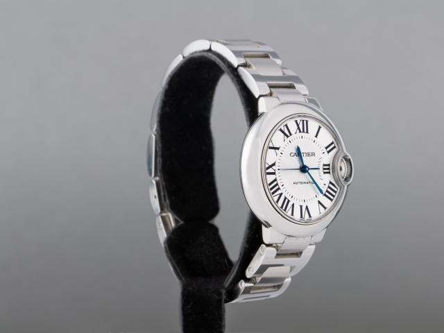 SÅLD - Cartier Ballon Blue Automatic 33 mm, Nära nyskick