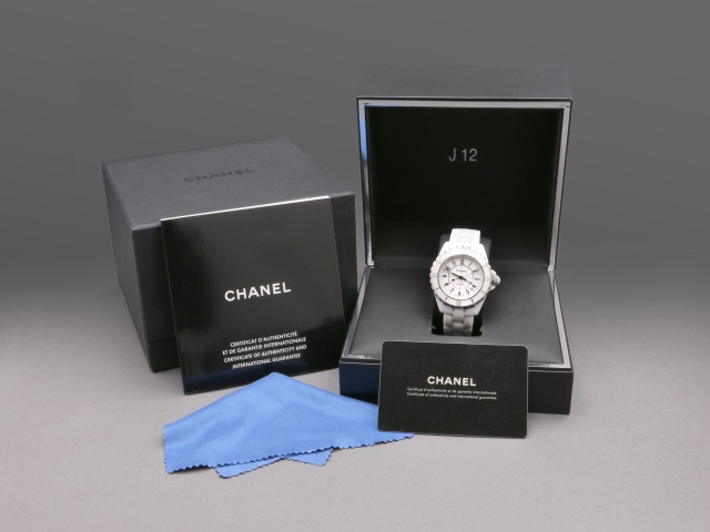 Chanel J12 Automatic 38mm White Ceramic, Full set