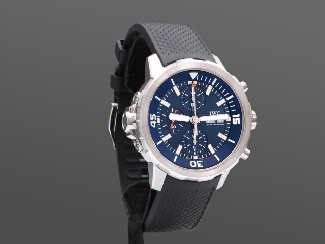 IWC Aquatimer Chrono Jacques Cousteau - Perfekt skick, full set