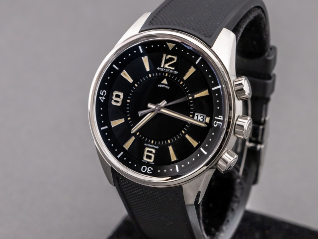 SÅLD - Jaeger LeCoultre Polaris Memovox 50th anniversary Limited