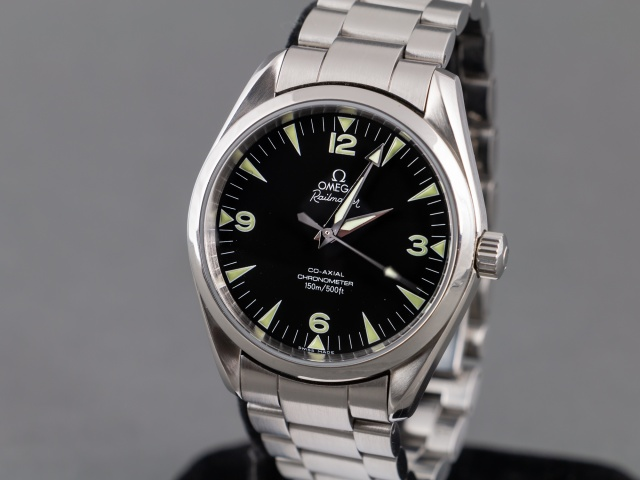 SÅLD - Omega Aqua Terra 150M Railmaster 39 mm Co-Axial Chronometer