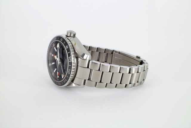 SÅLD - Omega Planet Ocean 600M Co-axial GMT 43.5 mm