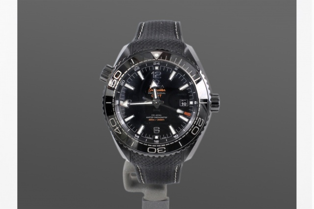 Omega Planet Ocean 600M Deep Black (Ceramic) GMT Co-Axial Master Chronometer