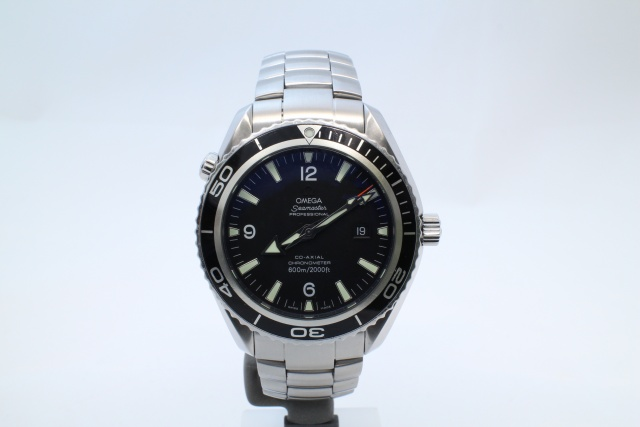 SÅLD - Omega Planet Ocean XL 45,5mm, Nyservad, Full set
