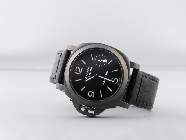 SÅLD - Panerai Luminor Marina Destro PAM26, Lefty med sandwich - Full set