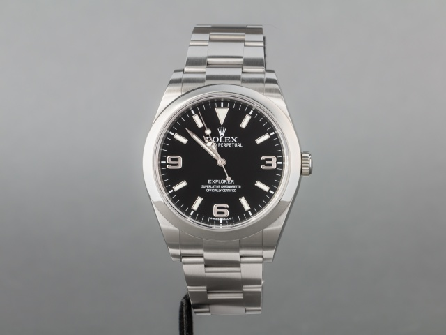 SÅLD - Rolex Explorer 39mm, 214270 - Full set, svensksåld -16