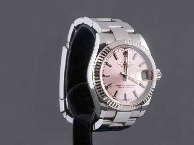 SÅLD - Rolex Lady Datejust 31 Stål/Vitguld, Full set 2013