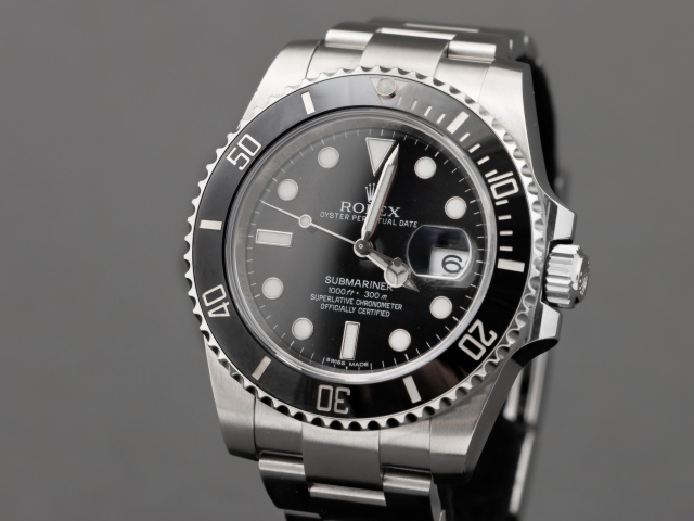 SÅLD - Rolex Submariner Date 116610LN, Full set 2015