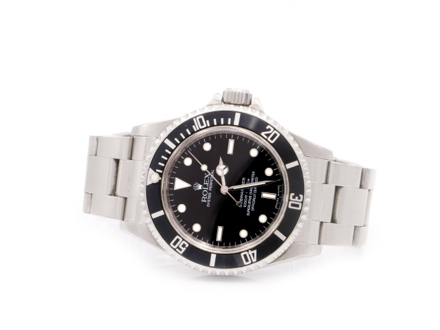 SÅLD - Rolex Submariner No Date 4 liner, Full set 2009