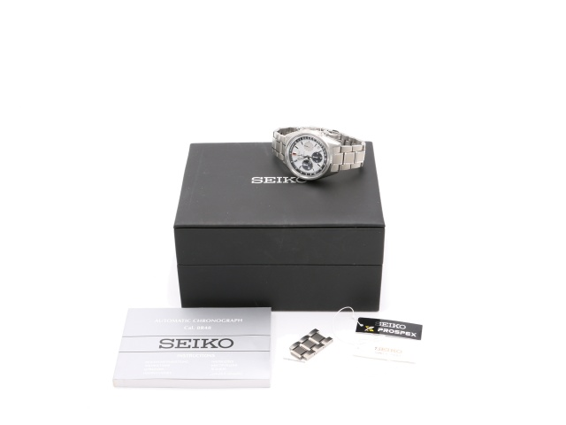 SÅLD - Seiko Prospex Automatic Chrono Limited, Full set SE 2020