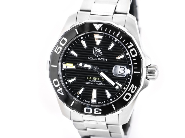SÅLD - TAG Heuer Aquaracer Caliber 5 Ceramic, 41mm