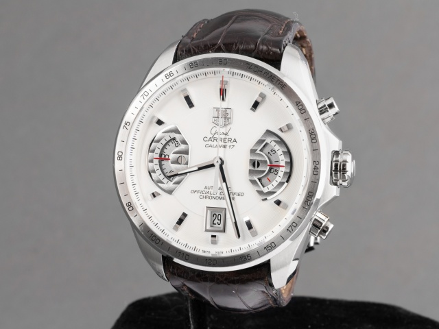 SÅLD - TAG Heuer Grand Carrera Calibre 17 RS Chrono - Nyservad