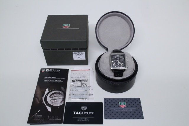 SÅLD - Heuer Monaco - Re-Edition by TAG Heuer, Nyservad