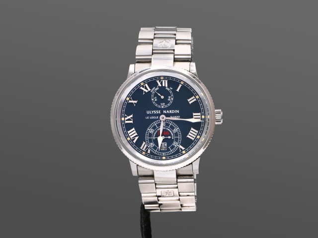 Ulysse Nardin Marine Chronometer Blå, Full set